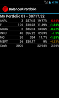 Screenshot of Balanced Portfolio