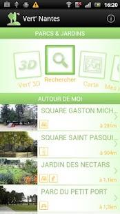 Vert' Nantes - Parcs & Jardins - screenshot thumbnail
