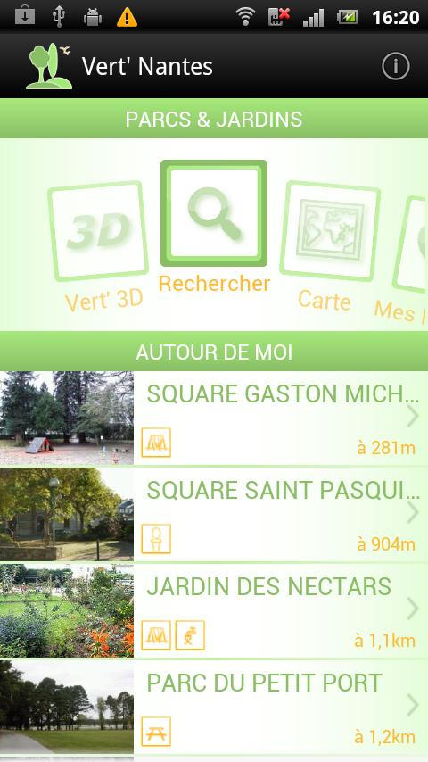 Vert' Nantes - Parcs & Jardins - screenshot