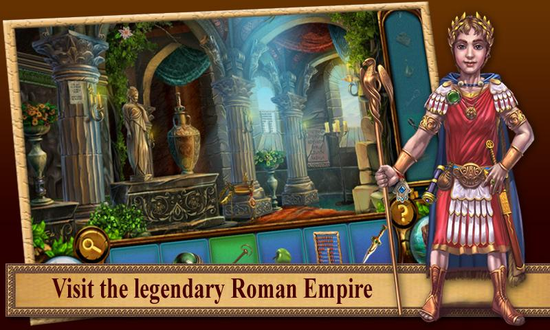 Romance of Rome: Hidden Object - screenshot