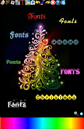 Christmas Fonts 4 Doodle Text