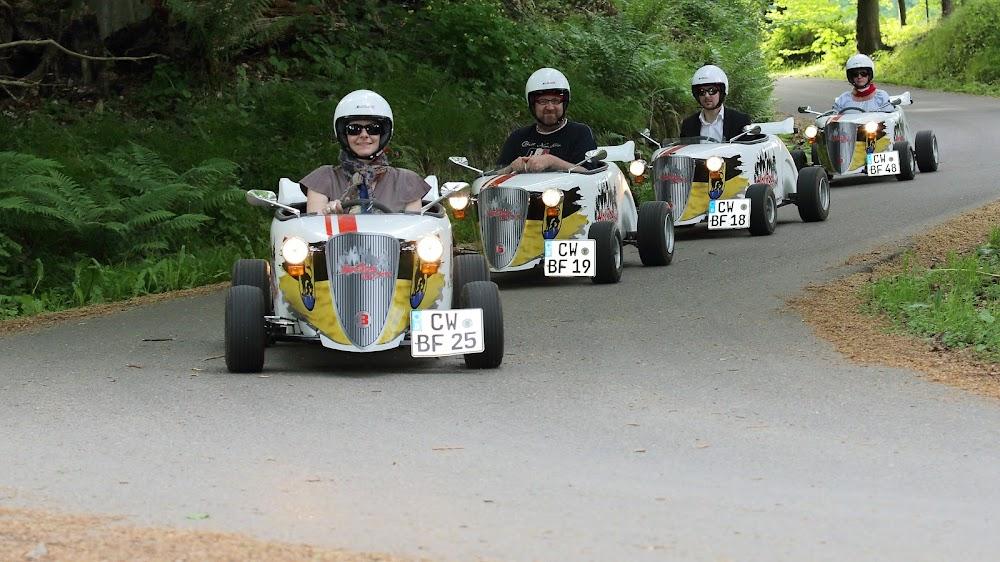 HotRod Citytour Black Forest