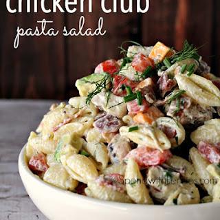 Chicken Club Pasta Salad.