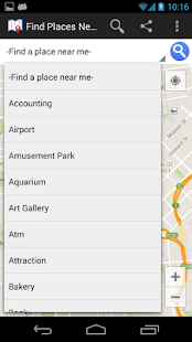 Find Places Near Me- screenshot thumbnail