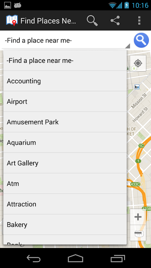 Find Places Near Me- screenshot