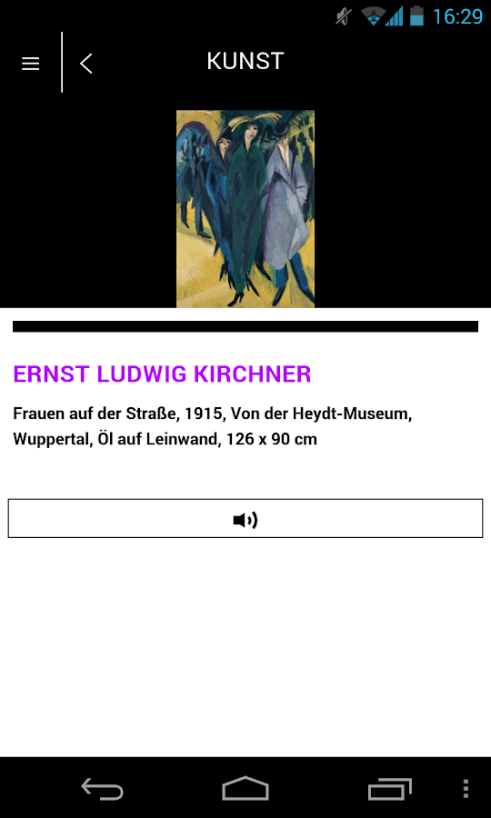 WIEN BERLIN Moderne Kunst - screenshot