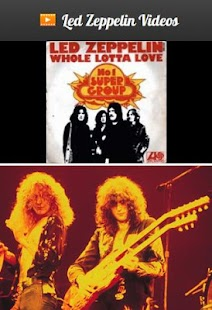 Led Zeppelin Videos - screenshot thumbnail