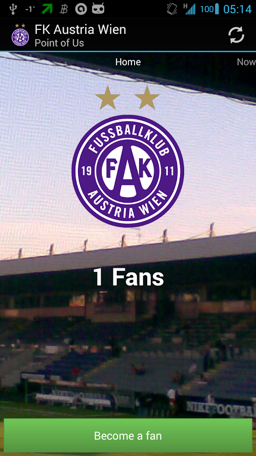 Point of FK Austria Wien - screenshot