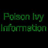Poison Ivy Information