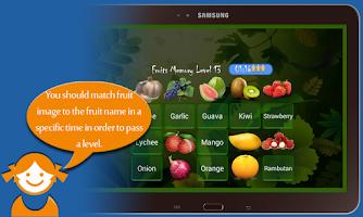 Screenshot of Kids Memory Game