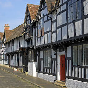 Mill Street Warwick by Tony Murtagh - Buildings & Architecture Public & Historical ( historical houses, warwick, tudor architecture, timber-framed houses )
