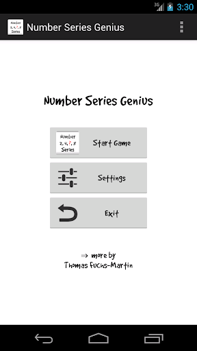 Number Series Genius