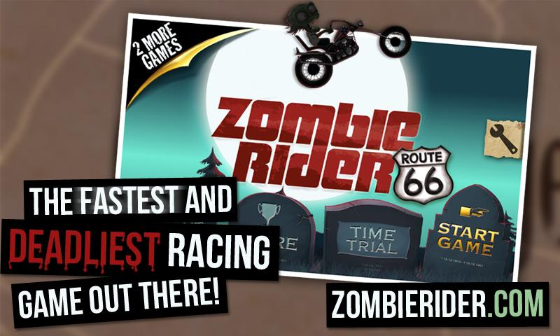 Zombie Rider Free - screenshot