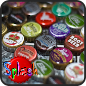 Bottle Caps Splash Game
