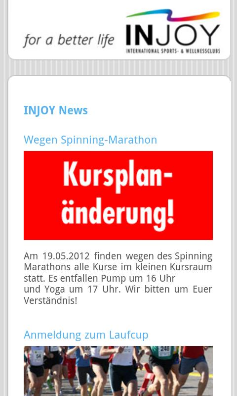 INJOY Wolfsburg- screenshot