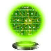 Lime Green Keyboard
