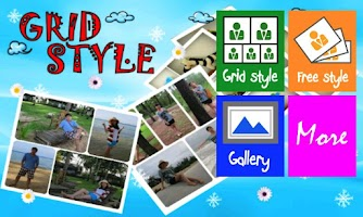 Screenshot of Grid Style Photo