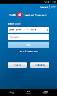 BMO Mobile Banking - screenshot thumbnail