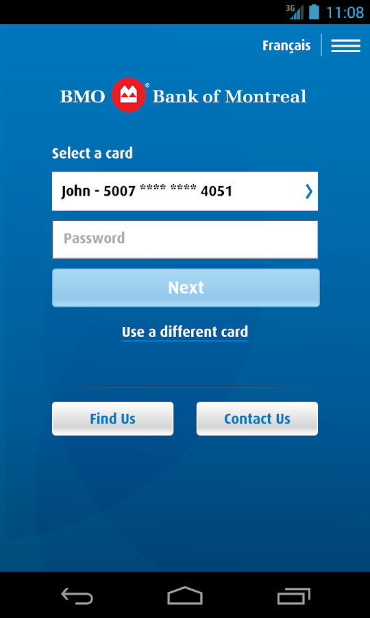 BMO Mobile Banking - screenshot
