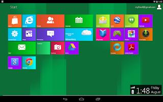 Screenshot of Metro UI Launcher 8.1 Pro
