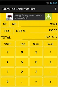 Sales Tax Calculator Free screenshot 8