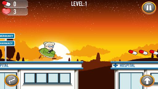 Running Granny Against Zombie 7 screenshots 2