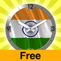 India flag Analog Clock icon