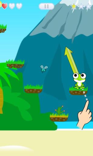 免費青蛙的飛躍