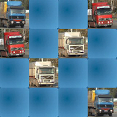 Trucks Hard Memory Game