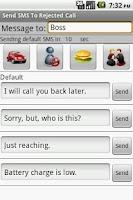 Screenshot of QText:Reject Text & Blacklist