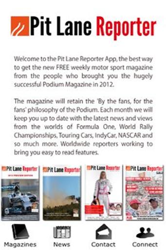 Pit Lane Reporter
