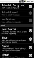 Screenshot of Sports Eye - Tennis (Lite)