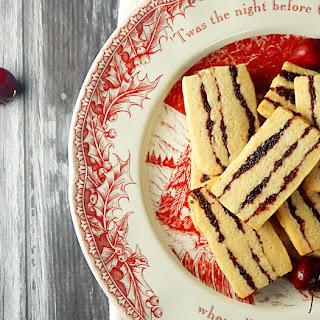 Cranberry Cherry Ribbon Cookies
