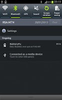 Screenshot of BatteryFu battery saver