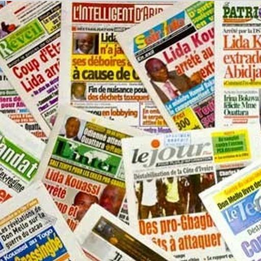 Ivory Coast Newspapers LOGO-APP點子