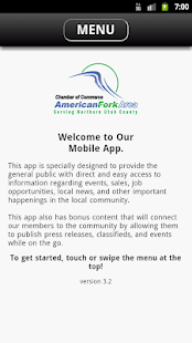 American Fork Area Chamber- screenshot thumbnail