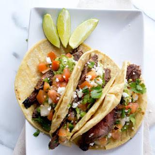 Baja Carne Asada Tacos