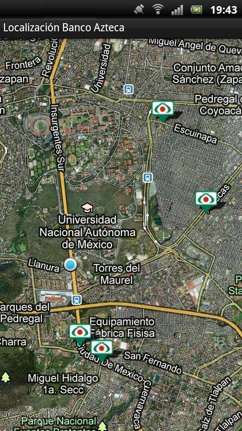 Banco Azteca Localización- screenshot