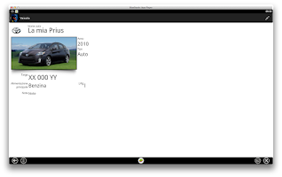 Screenshot of MyFuelLog