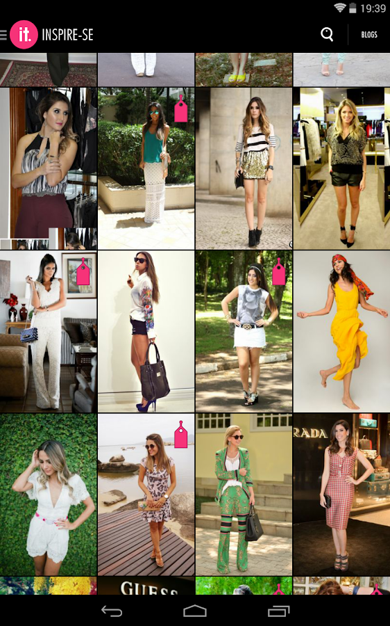 Moda it: captura de pantalla