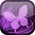 Purple Butterfly Wallpaper icon