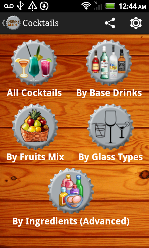 Drinks Guide™ Cocktail Recipes - screenshot