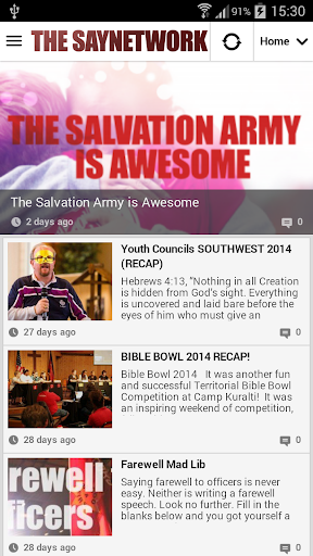 The Saynetwork App