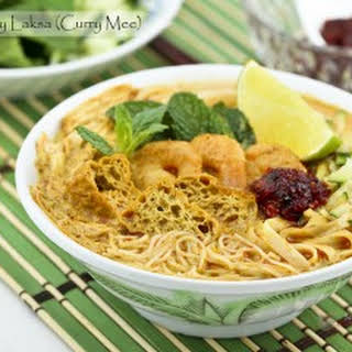 Curry Laksa (Curry Mee).