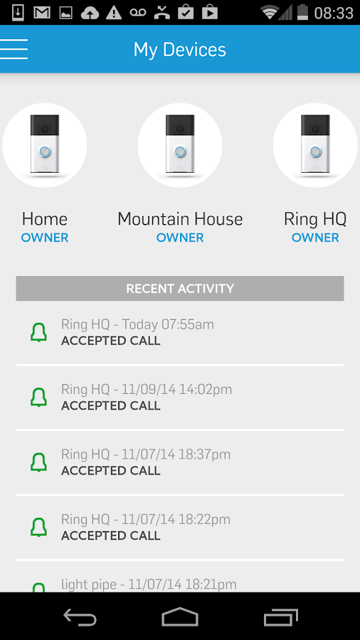 Ring Always Home Screenshot