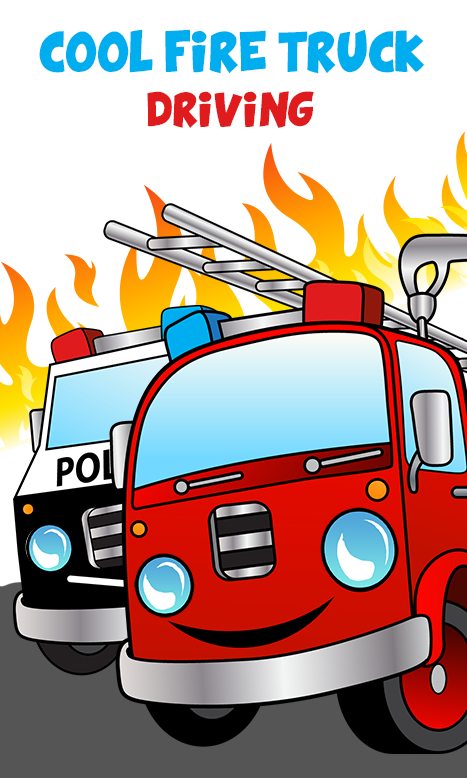 cool fire truck games for kids screenshot