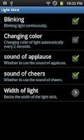 Screenshot of Light stick (free)