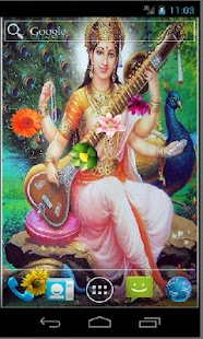 Goddess Saraswati HD LWP - screenshot thumbnail