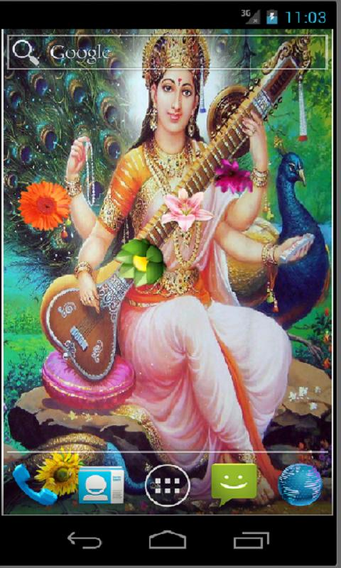 Goddess Saraswati HD LWP- screenshot