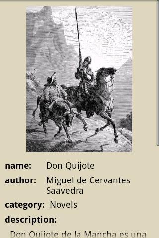 Don Quixote- screenshot